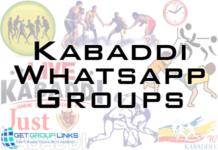 kabaddi whatsapp group link