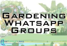 gardening whatsapp group link