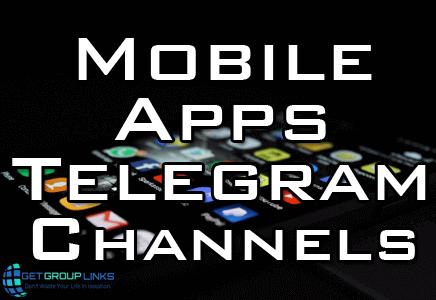 mobile app telegram channel