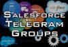 salesforce telegram groups