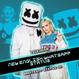 New English Whatsapp Status