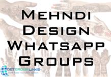 mehndi design whatsapp group link