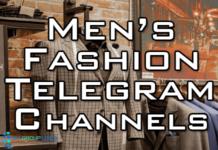 men's fashion telegram channel